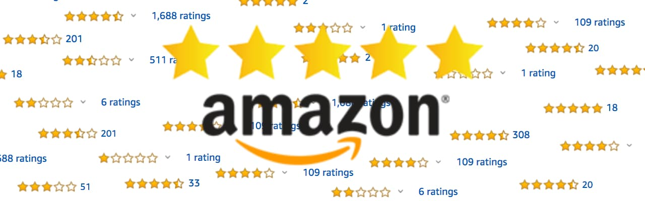 amazon product review star ratings